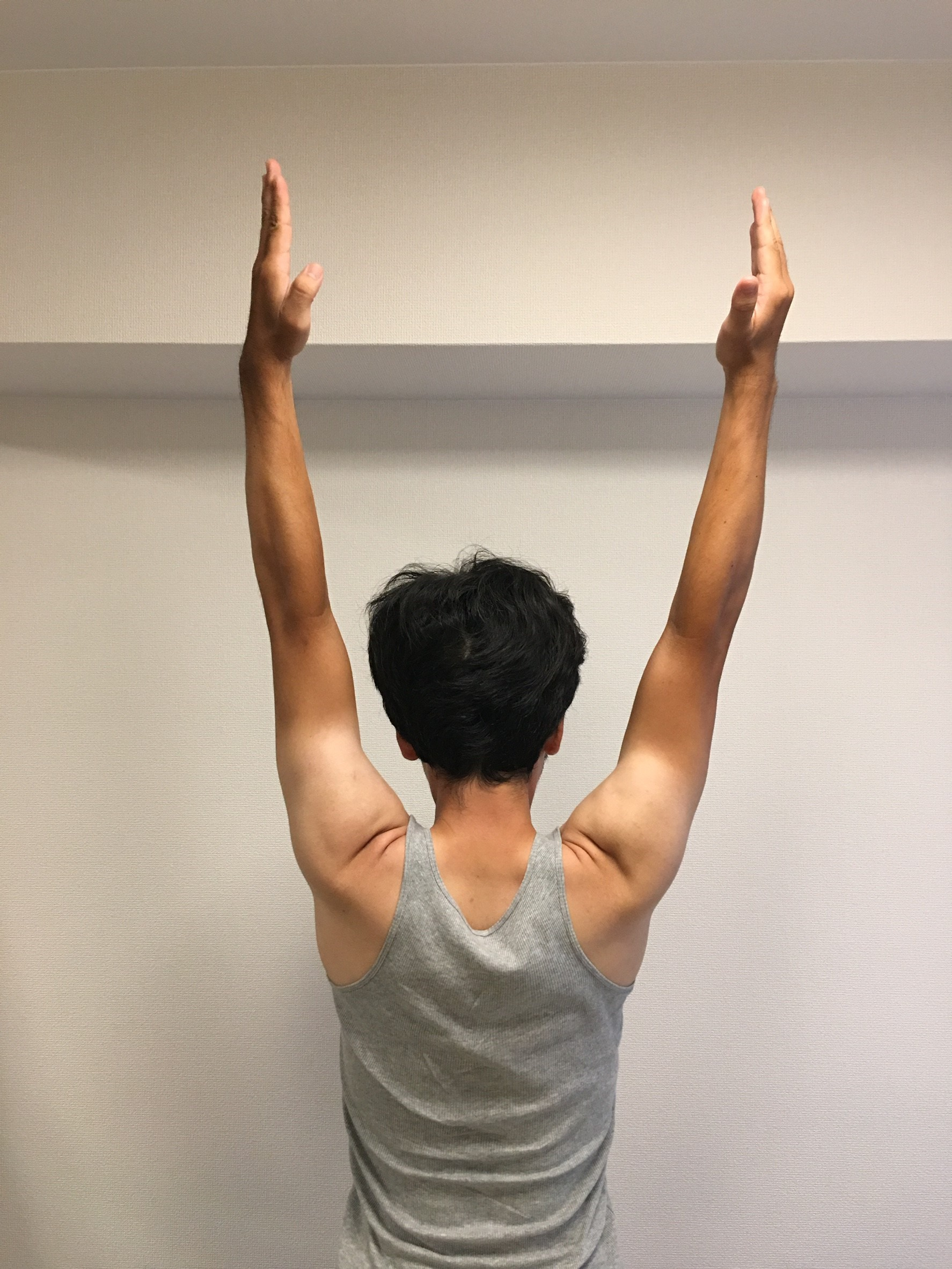 肩を触らず肩の詰まりを取る整体