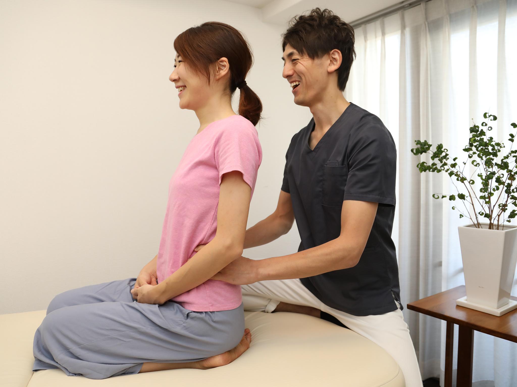 身体の状態のチェック(姿勢・ストレス度)